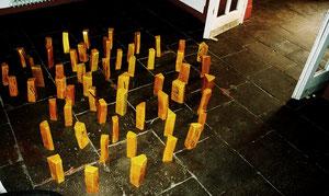 interaktive Installation Sonnenscheite © Nathalie Arun