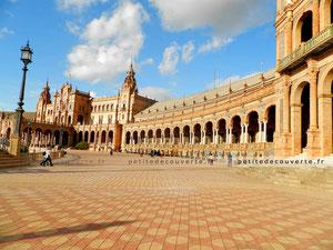 - Plaza de España - Place d'Espagne - Séville