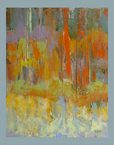 Wald, 40x50 oil on Canvas