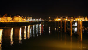 Dieppe la nuit (Haute Normandie - France - Juin 2012)