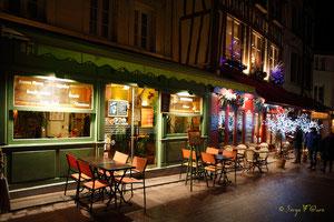 Restaurant - Noël 2011 - Rouen - Seine Maritime - Haute Normandie - France