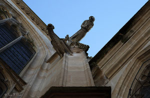Gargouilles de l'église Saint Rémy de Dieppe (Dieppe - Haute Normandie - France - Juin 2012)