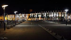 Quai Henri IV - Dieppe la nuit (Haute Normandie - France - Juin 2012)