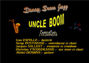 "Uncle Boom joue ""Fats Waller"" / Sancy Snow Jazz 2008 / 19ème Festival / Murat le Quaire"