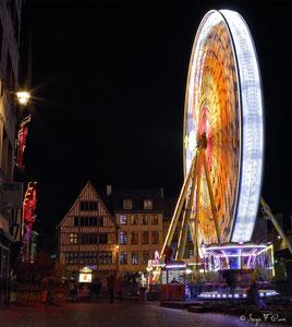 Illuminations de Noël 2014  - Rouen - Seine Maritime - Haute Normandie - France