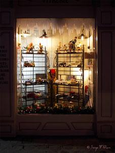 Vitrine de jouet - Noël 2011 - Rouen - Seine Maritime - Haute Normandie - France