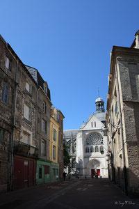 Eglise Saint Jacques de Dieppe (Haute Normandie - France - Juin 2012)
