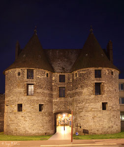 La porte des tourelles de Dieppe - XV siècle (Haute Normandie - France - Juin 2012)
