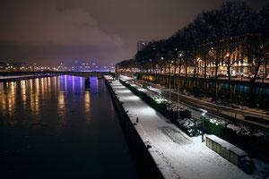 Quais de Seine rive droite - Noël 2010 - Rouen - Seine Maritime - Haute Normandie - France