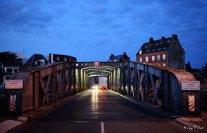 Pont tournant de Dieppe (Haute Normandie - France - Juin 2012)