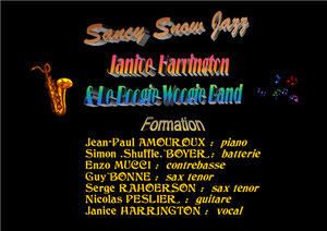 Janice Harington & le Boogie Woogie Band / Sancy Snow Jazz 2008 / 19ème Festival / La Bourboule