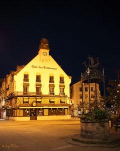 Café des tribunaux à Dieppe (Haute Normandie - France Juin 2012)