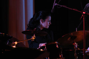 Batterie: Julie Saury / Laurent Mignard Duke Orchestra / SancySnowJazz 2007