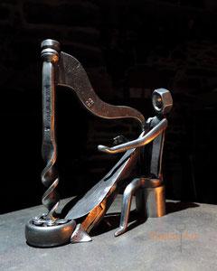 Le Harpiste - 800 €