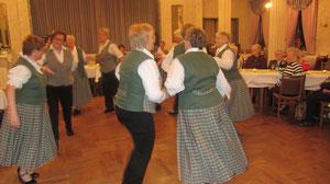 der letzte öffentliche Auftritt unseres Tanzkreises