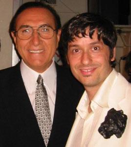 Pippo Baudo e Fabrizio Riceputi Fiorello 2004 teatro delle vittorie