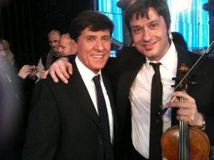 Gianni Morandi e Fabrizio Riceputi Sanremo 2010 Ti lascio una canzone
