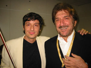 Fabrizio Riceputi e Gigi Proietti 50 anni RAI 2004