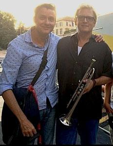 Chris Botti e Fabrizio Riceputi,concerto Roma con Nile Rordgers (Chic)