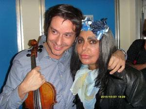 Fabrizio Riceputi e Loredana Berte' Rai ti lascio una canzone 2010