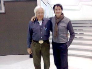 Maestro Bruno Biriaco e Fabrizio Riceputi Serata d'onore