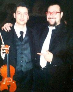 Fabrizio Riceputi e Andrea Braido Fiorello 2001