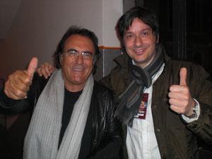 Al Bano e Fabrizio Riceputi Sanremo 2010