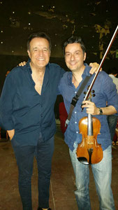 C. De Sica e Fabrizio Riceputi,premio SIAE Festival dei due mondi Spoleto