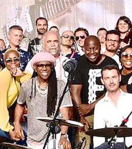Nile Rodgers (Chic) e noi.....
