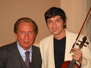 Mike Bongiorno e Fabrizio Riceputi 50 anni RAI 2004