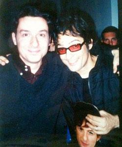 Fabrizio Riceputi e Fiorello stasera pago io 2000