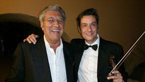 F.Micalizzi e Fabrizio Riceputi premio SIAE Festival dei due mondi Spoleto