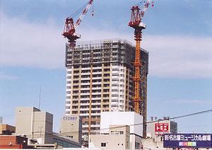 名古屋ルーセントタワー 地上40階(駅北で工事中)