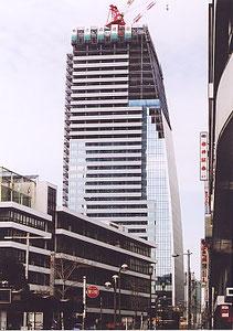 アクアタウン納屋橋 地上33階(駅東で工事中)