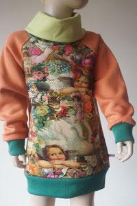 Voor: Sweater Engeltjes, maat 122/128