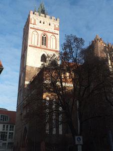 Kirche am Oberkirchenolatz (S. Marienkirche, heute mit  Museum Junge Kunst)