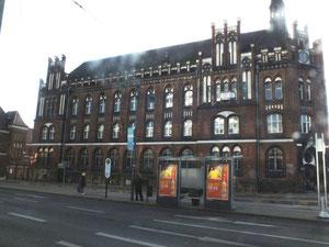 Logenstraße, altes Fabrikgebäude (heute: Büros mit Leerstand)