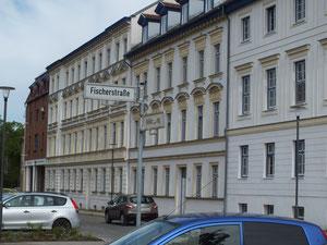 Straße im Citybereich