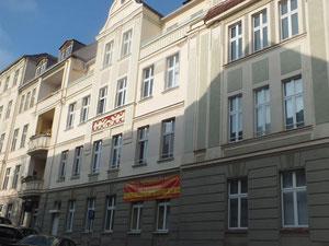 """Gbubener Straße, Studentenwohnheim, """"Zimmer frei"""""""