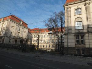 Gebäude, heute Teil der Universität
