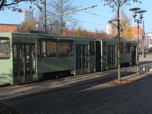 Trambahn am Europaplatz