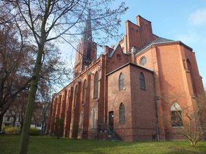 Evangelische Kirche (St. Gertraudkirche), Getraudenplatz 6