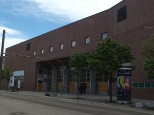 Universität, neuer Gebäudekomplex
