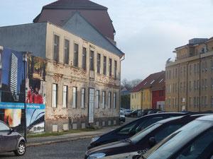 Verfallene Häuser im Bereich Paul-Feldner-Straße