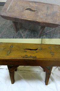 Restauración taburete