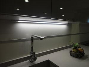 barra regulable de luz