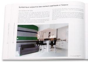 LA COULEUR EN DESIGN D 'ESPACE - Photo d'appartement réalisé en 2008 - Edition Eyrolles -  2010