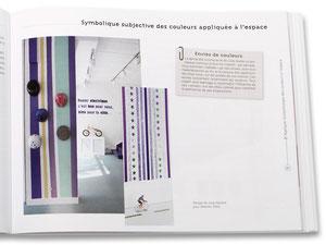 LA COULEUR EN DESIGN D 'ESPACE - Photo du Showroom pour VELOCITO 2008 - Edition Eyrolles -  2010