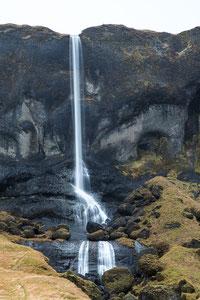 Der Wasserfall Foss á Síðu