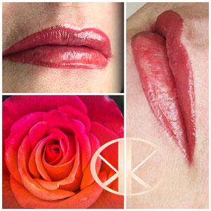 Lippenteilschattierung